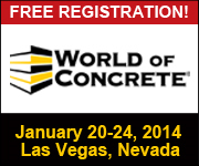2014 World of Concrete